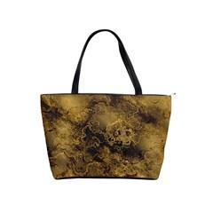Wonderful Marbled Structure B Shoulder Handbags by MoreColorsinLife