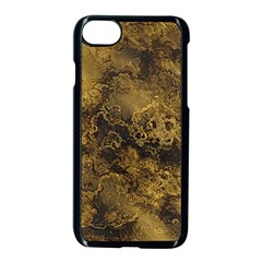 Wonderful Marbled Structure B Apple Iphone 7 Seamless Case (black) by MoreColorsinLife