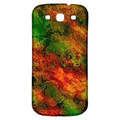 Wonderful Marbled Structure F Samsung Galaxy S3 S Iii Classic Hardshell Back Case by MoreColorsinLife