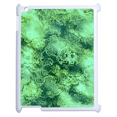 Wonderful Marbled Structure I Apple Ipad 2 Case (white) by MoreColorsinLife