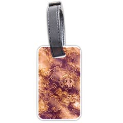 Wonderful Marbled Structure I Luggage Tags (one Side)  by MoreColorsinLife