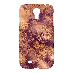 Wonderful Marbled Structure I Samsung Galaxy S4 I9500/i9505 Hardshell Case by MoreColorsinLife