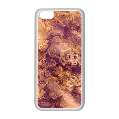 Wonderful Marbled Structure I Apple Iphone 5c Seamless Case (white) by MoreColorsinLife