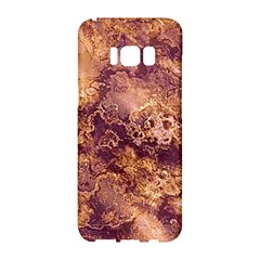 Wonderful Marbled Structure I Samsung Galaxy S8 Hardshell Case  by MoreColorsinLife