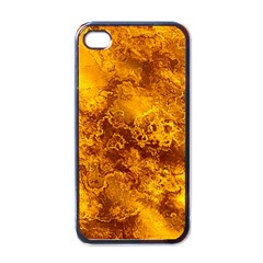 Wonderful Marbled Structure H Apple Iphone 4 Case (black) by MoreColorsinLife