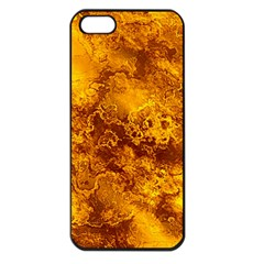 Wonderful Marbled Structure H Apple Iphone 5 Seamless Case (black) by MoreColorsinLife
