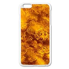 Wonderful Marbled Structure H Apple Iphone 6 Plus/6s Plus Enamel White Case by MoreColorsinLife