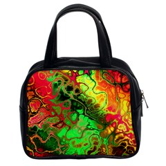 Awesome Fractal 35i Classic Handbags (2 Sides) by MoreColorsinLife