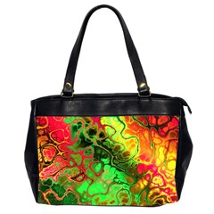 Awesome Fractal 35i Office Handbags (2 Sides)  by MoreColorsinLife