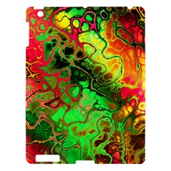 Awesome Fractal 35i Apple Ipad 3/4 Hardshell Case by MoreColorsinLife