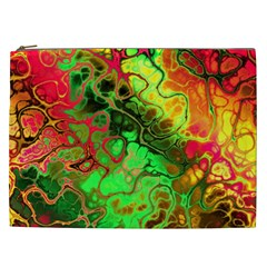 Awesome Fractal 35i Cosmetic Bag (xxl)  by MoreColorsinLife