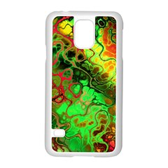Awesome Fractal 35i Samsung Galaxy S5 Case (white) by MoreColorsinLife