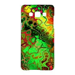 Awesome Fractal 35i Samsung Galaxy A5 Hardshell Case  by MoreColorsinLife