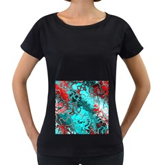 Awesome Fractal 35g Women s Loose Fit T Shirt (black) by MoreColorsinLife