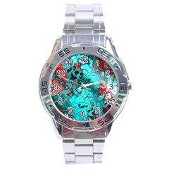 Awesome Fractal 35g Stainless Steel Analogue Watch by MoreColorsinLife