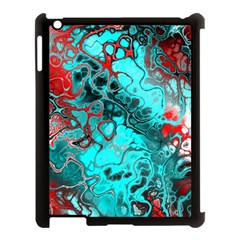Awesome Fractal 35g Apple Ipad 3/4 Case (black) by MoreColorsinLife