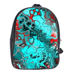 Awesome Fractal 35g School Bag (xl) by MoreColorsinLife