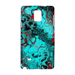 Awesome Fractal 35g Samsung Galaxy Note 4 Hardshell Case by MoreColorsinLife