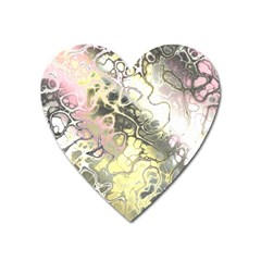 Awesome Fractal 35h Heart Magnet by MoreColorsinLife