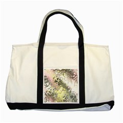 Awesome Fractal 35h Two Tone Tote Bag by MoreColorsinLife
