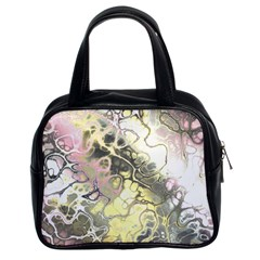 Awesome Fractal 35h Classic Handbags (2 Sides) by MoreColorsinLife