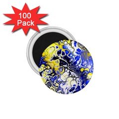 Awesome Fractal 35a 1 75  Magnets (100 Pack)  by MoreColorsinLife