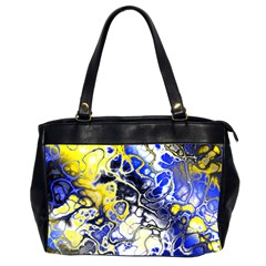 Awesome Fractal 35a Office Handbags (2 Sides)  by MoreColorsinLife