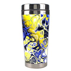 Awesome Fractal 35a Stainless Steel Travel Tumblers by MoreColorsinLife