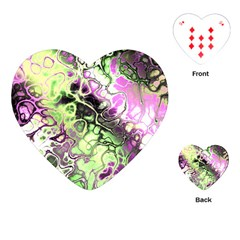 Awesome Fractal 35d Playing Cards (heart)  by MoreColorsinLife