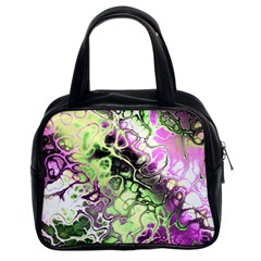 Awesome Fractal 35d Classic Handbags (2 Sides) by MoreColorsinLife