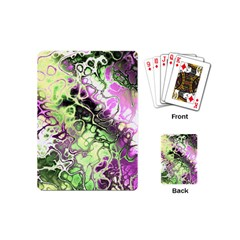 Awesome Fractal 35d Playing Cards (mini)  by MoreColorsinLife