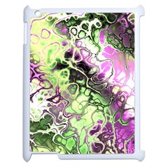 Awesome Fractal 35d Apple Ipad 2 Case (white) by MoreColorsinLife