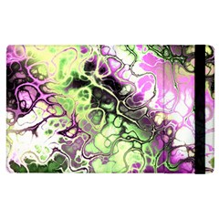 Awesome Fractal 35d Apple Ipad 2 Flip Case by MoreColorsinLife