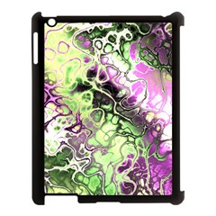 Awesome Fractal 35d Apple Ipad 3/4 Case (black) by MoreColorsinLife
