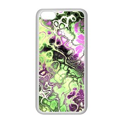 Awesome Fractal 35d Apple Iphone 5c Seamless Case (white) by MoreColorsinLife