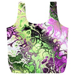 Awesome Fractal 35d Full Print Recycle Bags (l)  by MoreColorsinLife