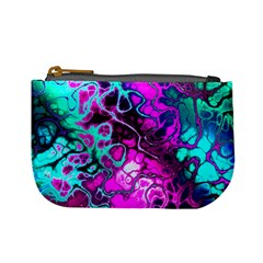 Awesome Fractal 35b Mini Coin Purses by MoreColorsinLife