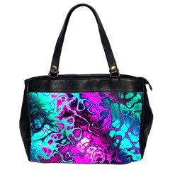 Awesome Fractal 35b Office Handbags (2 Sides)  by MoreColorsinLife