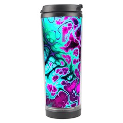 Awesome Fractal 35b Travel Tumbler by MoreColorsinLife