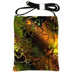 Awesome Fractal 35e Shoulder Sling Bags by MoreColorsinLife