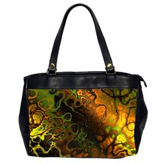 Awesome Fractal 35e Office Handbags (2 Sides)  by MoreColorsinLife