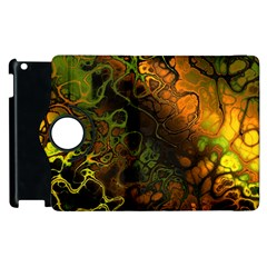 Awesome Fractal 35e Apple Ipad 2 Flip 360 Case by MoreColorsinLife