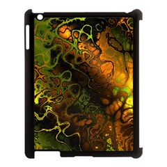 Awesome Fractal 35e Apple Ipad 3/4 Case (black) by MoreColorsinLife