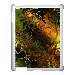 Awesome Fractal 35e Apple Ipad 3/4 Case (white) by MoreColorsinLife