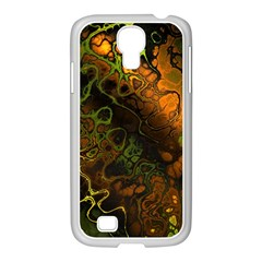 Awesome Fractal 35e Samsung Galaxy S4 I9500/ I9505 Case (white) by MoreColorsinLife