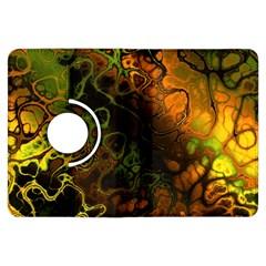 Awesome Fractal 35e Kindle Fire Hdx Flip 360 Case by MoreColorsinLife