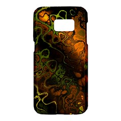 Awesome Fractal 35e Samsung Galaxy S7 Hardshell Case  by MoreColorsinLife