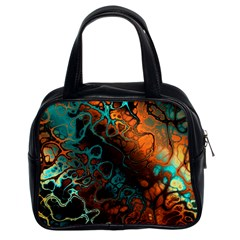 Awesome Fractal 35f Classic Handbags (2 Sides) by MoreColorsinLife