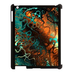 Awesome Fractal 35f Apple Ipad 3/4 Case (black) by MoreColorsinLife