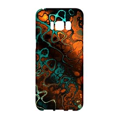 Awesome Fractal 35f Samsung Galaxy S8 Hardshell Case  by MoreColorsinLife